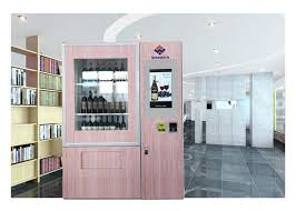 Outdoor Vending Machines Custom Anti Theft Large Capacity Outdoor Vending Machines For Wine With