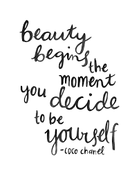 Inspirational Quotes About Beauty Within Best of Hand Lettering Quote Coco Chanel Beauty Brush Scripthand Lettering