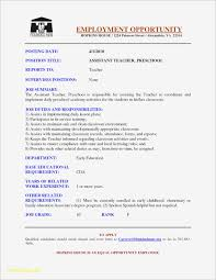 Cover Letter Sample Resume Early Childhood Education Teacher Save