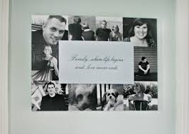 dimensional wall art is a great way to showcase your favorite family photographs and a quote on dimensional wall art shutterfly with 31 best shutterfly ideas images on pinterest shutterfly