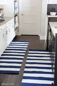navy and white striped rug runner designs pertaining to plan 19 architecture olin black