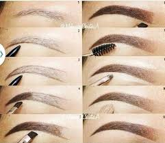 how to fill in your eyebrows eyebrow shaping tutorial including tips for plucking eyebrow