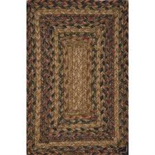 picture of jaipur hudson jute braided rugs braided solid pattern jute polyester taupe red