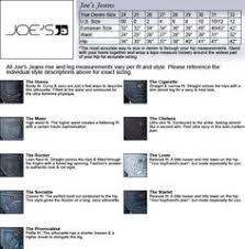 Adriano Goldschmied Jeans Size Chart 70 Best Everything Denim And Jeans And Brands Images In 2017