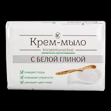 <b>Крем</b>-<b>мыло</b> `<b>НЕВСКАЯ</b> КОСМЕТИКА` с белой глиной 90 г по ...
