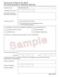 20 Printable Medical Certificate For Sick Leave Format