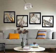modern home decoration metal wall art 3d musical instruments hanging pictures 4pcs set 51  on wall art 3d metal decor with modern home decoration metal wall art 3d musical instruments hanging