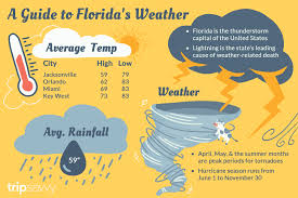 Miami Weather Chart Floridas Climate And Weather