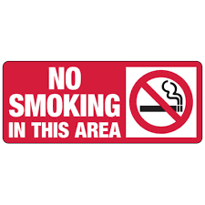No Smoking Signage No Smoking In This Area Industrial Smoking Signs Seton School Safety