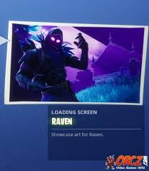 Fortnite Battle Royale: Loading Screen Raven - Orcz.com, The Video ...