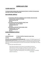 sample resume nurse with experience sample resume staff nurse sample rn  nurse resume no experience .