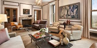 Old West And New York Bedroom Duplex Apartment Living Room Photo ...