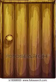 wooden door clipart. Perfect Door Clipart  A Wooden Door Fotosearch Search Clip Art Illustration Murals  Drawings And Wooden Door