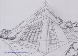 perspective drawings of buildings. Draw Buildings In Three Point Perspective Drawings Of W
