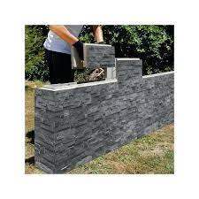 retaining wall block for garden