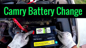 2005 Toyota Camry Battery Replacement 2AZFE - Quick and Easy - YouTube
