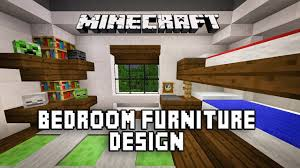 Minecraft Kids Bedroom Minecraft Tutorial How To Make A Modern Bedroom With Bunk Beds