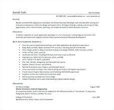 Sample Java Resume Cool Web Application Engineer Sample Resume Cool Java Web Application