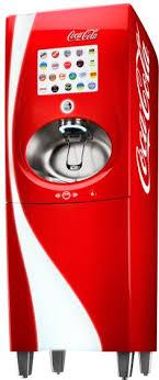 Mini Soda Candy Vending Machine Beauteous 48488 Miniature Soda Machine Coca Cola Painted What A Great Addition