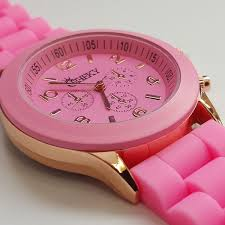 amazing deals on designer watches under £100 uk delivery stylish ladies light pink silicone w rose gold fashion watch by cheeky he 13