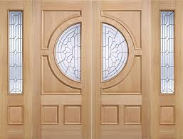 Traditional Exterior Oak Doors Exterior Glazed Oak Doors Oak - Hardwood exterior doors and frames