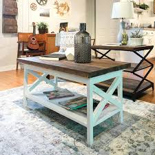 white farmhouse coffee table a painted and stained wooden farmhouse coffee table topped with a slate white farmhouse coffee table