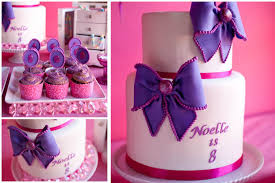 cakes for girls 8th birthday. Unique Cakes Purple And Pink Birthday Cake Ideas In Cakes For Girls 8th Birthday K