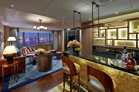 ... Living Room Bar Ideas Combined Furniture Look Extraordinary Elegant And  Wooden With Pattern Carpet Unique And ...