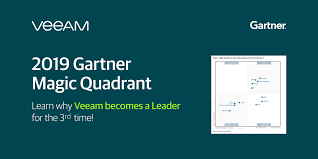 Gartner Chart 2019 Gartner Magic Quadrant Veeam Is A Leader For The 3rd Time