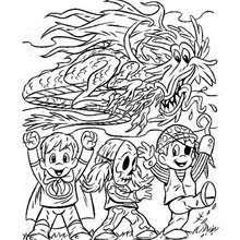 Small Picture Scary mummy coloring pages Hellokidscom