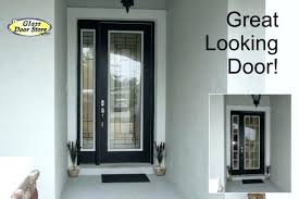 entry door glass replacement entry doors with glass front door with glass insert and a side
