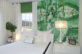 Camera Da Letto Verde Mela : Green u chic idee per colorare di verde la camera da letto