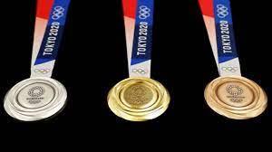 كيف تُصنع الميدالية الذهبية في أولمبياد طوكيو 2020؟ | بزنس ريبورت الاخباري