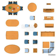 Floor Plan Kitchen Collection Stock Images  Image 33070064Furniture Clipart For Floor Plans