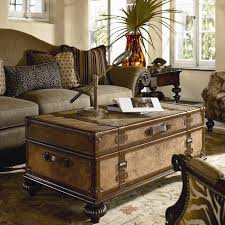 trunk table furniture. View In Gallery Ernest Hemingway Traveler\u0027s Trunk Cocktail Table Trunk Table Furniture