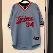 Mitchell And Ness Throwback Jersey Size Chart Mn Twins Kirby Puckett Jersey Nwt Nwt