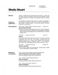Art Teacher Resume Template Sample Resume Cover Letter Format