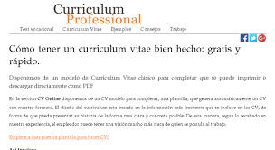 Access Curriculum Professional Com Bienvenido Curriculum