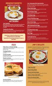 View the latest jim's restaurant menu and price information on menuswithprice.com, and find your favorite food. Breakfast Jim S Family Restaurant