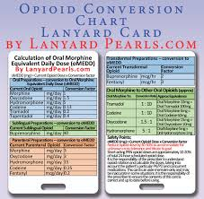 Narcotic Conversion Chart World Of Reference