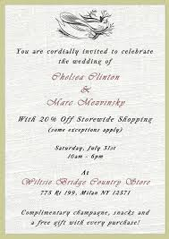 wedding invitation wording wedding invitation wording you are invited You Are Cordially Invited To The Wedding Of not invited to chelsea clinton's wedding?? shop our 20% off sale! we cordially invite you to the wedding of
