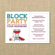 Block Party Flyer Block Party Invitation Template Free Flyer The Letter Sample