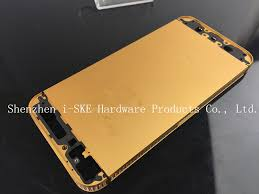 iphone 5s gold. luxury 24kt for iphone 5 gold body housing replacement 5s