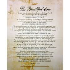 Bonnie Mohr Living Life Quote Adorable The Beautufil Cow Verse Only Print Art Featuring A Verse Of Why