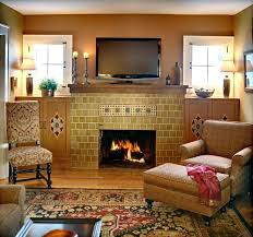 craftsman style fireplace screen mission living room eclectic with accent tile wall screens sears