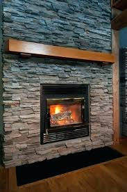 wood fireplace with gas starter outdoor burning how to use lo