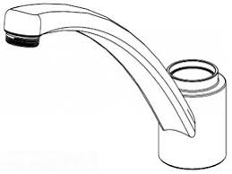 Moen Kitchen Faucet Diagram Kitchen Glamorous One Handle Kitchen Faucet Repair Design Ideas