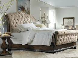 Bedroom Furniture Sets Hooker Furniture Rhapsody Upholstered Sleigh ...
