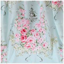 Discount Quilting Fabric White | 2018 Quilting Fabric White on ... & Shabby Chic 100% Cotton Pink Peony Rose in Light Blue White Printed Fabric  Patchwork Cloth Sewing Quilting Tissue Half Meter cheap quilting fabric  white Adamdwight.com