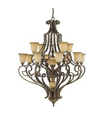 murray feiss coventry castle 12 light multi tier chandelier in aged tortoise shell f2007 8 4ats